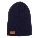 Born2Ride - Basic Long Beanie - Navy