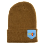 Born2Ride - Long Beanie - Brown