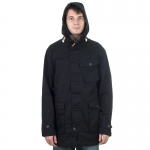 Colour Wear - Haga Parka - Black