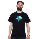 Downdays - Cloud T-shirt - Czarna