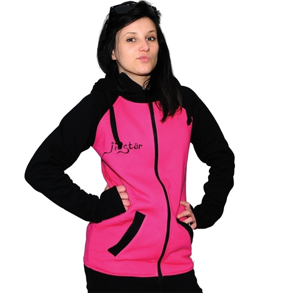 Pink And Black Hoodie | Fashion Ql