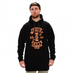Modes South Wear - Classic Hoodie - Black/Orange