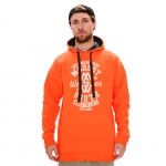 Modes South Wear - Classic Hoodie - Orange/White
