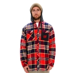 Modest South Wear - Flannel Classic - Red