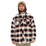 Modest South Wear - Nerd Insulated Vest Flannel - Black