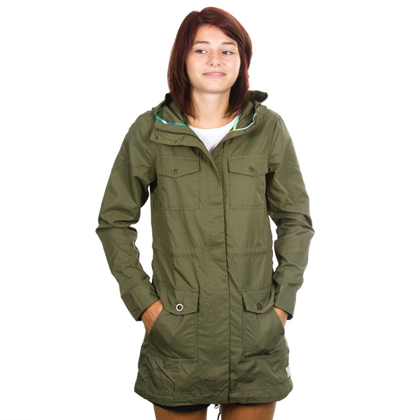 Nike - Division Fishtail Women s Parka Jacket - Dark Green · TwoTip