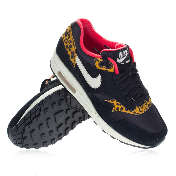 reputable site 9239e ee1a6 TwoTip - Nike - Air Max 1 WMNS - Black White Red Panter