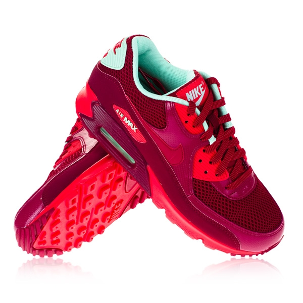 Wmns Nike Air Max 90 NBL Red Green
