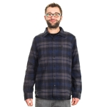 Nike - Raleigh L/S Flannel - Grey/Blue