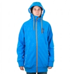 Planks - All Over It Softshell - Cyan/Orange