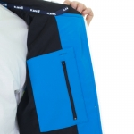 Planks - Bomb Shell-ter Softshell - Black/Cyan