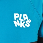 Planks - The Zaben Insulator Softshell - Black/Cyan/Grey